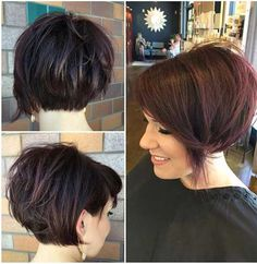 Popular Short Stacked Haircuts You will Love - Love this Hair