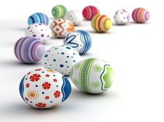 Painted Swedish Easter Eggs