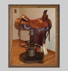 Western Saddle Bar Stools Western Furniture And Crafts