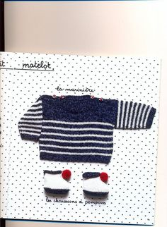 marine sweater model and baby booties Source by dantoncu