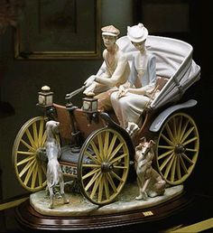 Lladro, A SUNDAY DRIVE (L.E.) (B)A SUNDAY DRIVE (L.E.) (B)        Issue Year:   1987    Retirement Year:   1999    Sculptor:   Salvador Debón