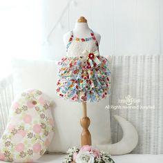 Miranda  Designer Handmade summer  dress for Pets / Free