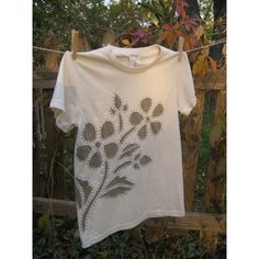 Hand Stitched Organic Reverse Applique T Shirt
