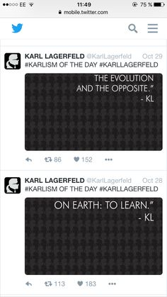 Karl Lagerfeld, Chanel, Learning, Day, Teaching, Studying