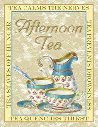 Afternoon Tea note card