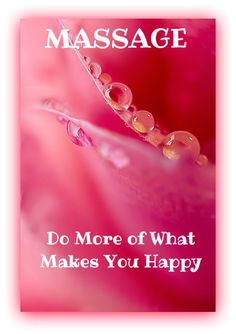 MASSAGE...Do More of What Makes You Happy    Come to Fulcher's Therapeutic Massage in Imlay City, MI and Lapeer, MI for all of your massage needs!  Call (810) 724-0996 or (810) 664-8852 respectively for more information or visit our website lapeermassage.com!