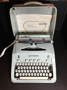1968 Vintage HERMES 3000 Portable Typewriter Case Switzerland Techno Elite | Collectibles, Pens & Writing Instruments, Typewriters | eBay!
