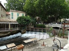 Fontaine-de-Vaucluse, France: A Town Shaped by Water France, Provence, Europe, Patio, World, Outdoor Decor, The World, Aix En Provence, Terrace