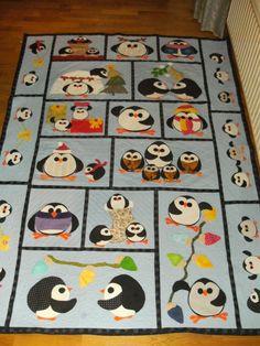 mijn 2 e pinguïn quilt