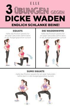 The best exercises for slim legs-Dicke Waden? The best exercises for slim legs? The best exercises for slim legs thick calves? The best exercises for slim legs Fitness Workouts, Fitness Herausforderungen, Fitness Routines, Exercise Routines, Exercise Motivation, Physical Fitness, Health Fitness, Fitness Legs, Fitness Plan