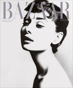 Audrey Hepburn - Harper's Bazaar Magazine Cover [Spain] (July 2014)