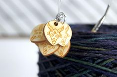 Created by Sleepy Sheep Workshop Stitch Markers, Sheep, Goats, Best Gifts, Workshop, Knitting, Pattern, Handmade, Etsy