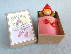 Strawberry Package Box