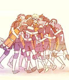 haguberry:  team/// hugs………