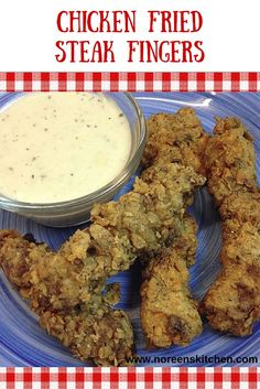 Chicken fried steak fingers are an excellent option and alternative to traditional chicken fried steak! These cook up much faster and are easy to portion out for your family. Make some white gravy from the extra My Recipes, Beef Recipes, Real Food Recipes, Cooking Recipes, Yummy Food, Favorite Recipes, Chicken Recipes, Recipies, Chicken Fried Steak Easy