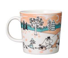 Happy Moomin - Arabia Moomin Mug - Moomin Valley Park Japan -. Moomin Mugs, Moomin Valley, Valley Park, Tove Jansson, Helsingborg, Chocolate Pots, My Coffee, Stoneware, Scandinavian