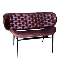 Smuk Lædersofa til 2 pers.    #sofa #interiør #interiørdesign #interiørbutikkendk #rustikkemøbler #boligindretning Smuk, Design