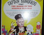 Captain Kangaroo Sings The Horse In The Striped Pajamas 1964 Kids TV Record LP Vinyl Bob Keeshan And Lumpy Brannum As Mr Green Jeans