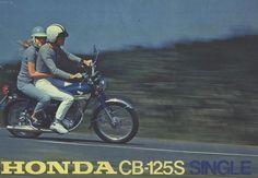 Advertising | Honda CB-125S