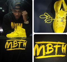 """Nike LeBron X """"Must Be the Honey"""" iD Another Look"""