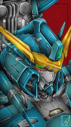 Arte Gundam, Gundam Art, Gundam Head, Dragon Tattoo Art, Gundam Wallpapers, Gundam Mobile Suit, Frame Arms Girl, Mecha Anime, Mechanical Design