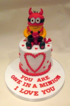 Valentines Day minion