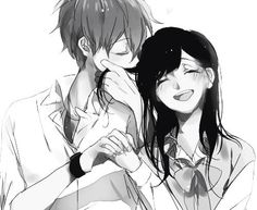I love the way the boy smell girl hair and some how it make me a little bit shy & happy. Do you think so???