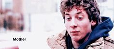 """When he gets right to the point. 