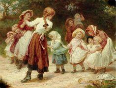 Elizabeth Adela Forbes - Children Playing