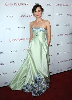 Keira Knightley Anna Karenina Premier. Lovely!