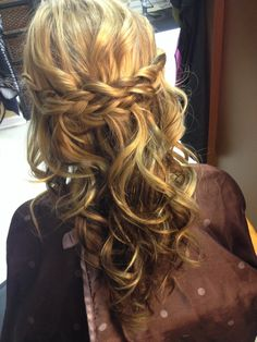 Braid prom hair