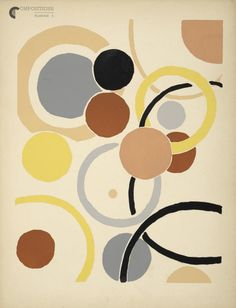 Design is fine. History is mine. — Sonia Delaunay, Compositions, Couleurs, Idees,...