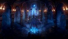 The Throne Room by znodden on DeviantArt Fantasy castle Dark fantasy art Fantasy art