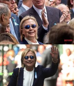 URGENT: Hillary's NYC Pix VERY WRONG - Used 'BODY DOUBLE' after Medical ...