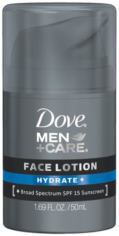 JACK -- Dove Men+Care Hydrate and Face Lotion