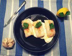 Cabillaud au four sauce crèmeuse au citron