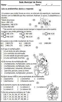 ilza dallmann's media content and analytics Leonardo, Math Facts, Professor, Homeschool, Sheet Music, Teaching, Math Equations, Pasta, Math Questions
