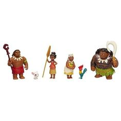 Disney Moana Adventure Pack Features 6 characters from disney's moana. Includes grandma tala and chief tui figures. Comes with 5 accessories. Includes 2 dolls, 4 figures, and 5 accessorie. Moana Disney, Disney Magic, Disney Art, Disney Pixar, Disney Frozen, Walt Disney, Maui, Princess Moana, Amazing Adventures