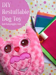 Dogs loved stuffed dog toys, but they destroy them so fast. This easy tutorial will show you how to make a DIY Dog that your dog can safely unstuff over and over. It's so easy, it takes less than 10 minutes and, if your dog is anything like mine, they'll love it.
