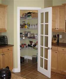 Kitchen Corner Pantry Dimensions Corner Walkin pantry