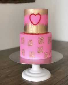 Valentines Day Cakes Valentines Day Cakes, Sugar Art, Sweet Cakes, Desserts, Food, Tailgate Desserts, Deserts, Essen, Postres