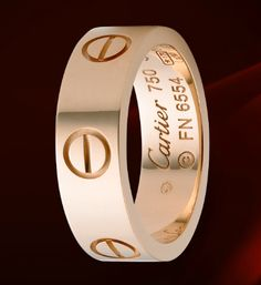 Cartier Love Ring, Pink Gold http://www.cartier.us/#/show-me/jewelry/b4084800-love-ring?tab=2