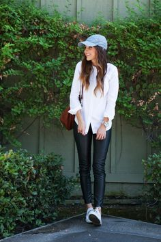 20 Ways to Style the Classic White Button-Down   The Everygirl