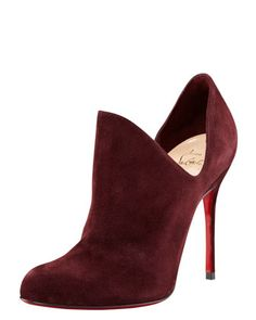 Dugueclina Side Dip Bootie by Christian Louboutin at Bergdorf Goodman.