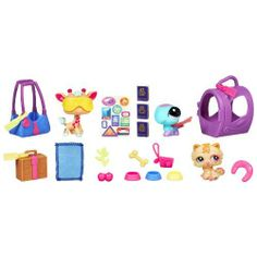 Littlest Pet Shop Playset - Sunshine & Travels - she LOVES Littest Pet Shop - esp the little accessoires Lps Pets, Pets 3, Lps Playsets, Lps Accessories, Lps Littlest Pet Shop, Little Pet Shop, Pet Travel, 1 Year Olds, Toddler Gifts
