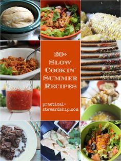 20 Crock-pot Potluck and Summer Party Recipes with Bonus Recipes
