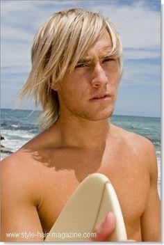 men hair medium to long on pinterest beach blonde and