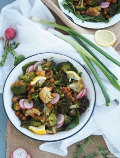 Moroccan-Roasted-Veggie-Power-Bowl is full of nourishing vegetables seasoned with powerful spices to boost nutrition.