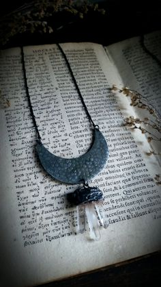 Moon Goddess Necklace by TaxilHoax on Etsy