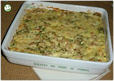 Gratin de thon au persil Macaroni And Cheese, Sandwiches, Cooking, Ethnic Recipes, Simple, Chez Vanda, Food, Moment, Easy Cooking